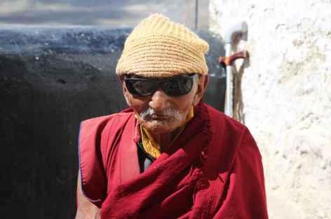 Moine centenaire - Ladakh, Inde -