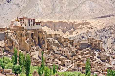 Arrivée à Lamayuru, Ladakh - Inde -