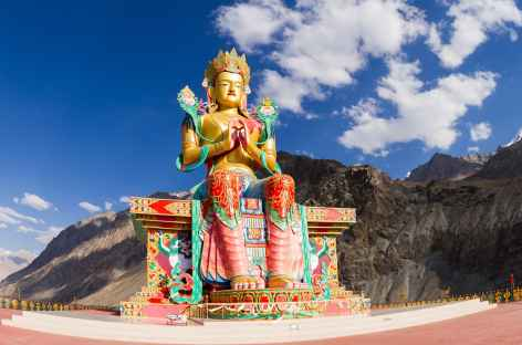 Le Bouddha de Maitreya - Vallée de la Nubra -
