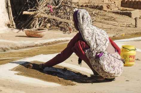 Femme du Madhya Pradesh - Inde -