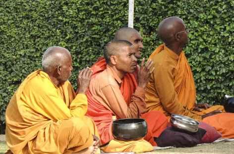 Méditation à Sarnath, Uttar Pradesh - Inde -