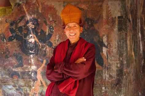 Moine du Zanskar, Inde -