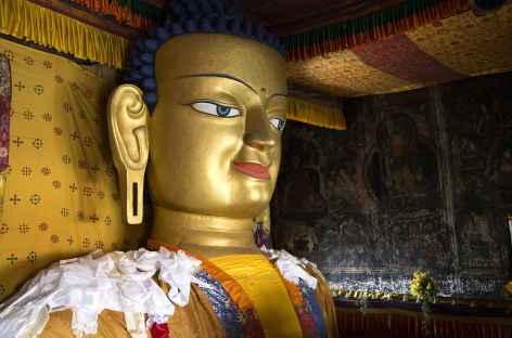Dans le monastère de Thikse - Ladakh Zanskar, Inde -
