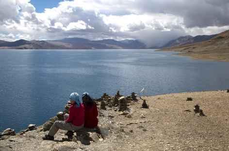 Au bord du lac Tsomoriri - Ladakh, Inde -