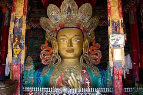 Statue de Maitreya - Ladakh, Inde -