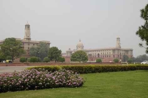 Le Parlement - Delhi - Inde -