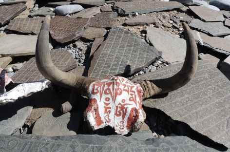 Mur à Mani - Ladakh, Inde -