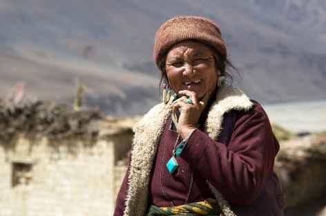 Visage du Ladakh, Inde -