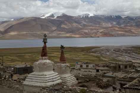 Vue de Korzok - Ladakh, Inde -