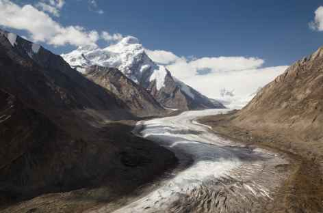 Glacier qui descend des Nun et Kun - Ladakh, Inde -