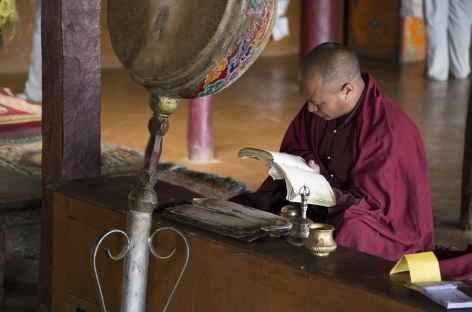 L'heure de la prière - Ladakh - Inde -