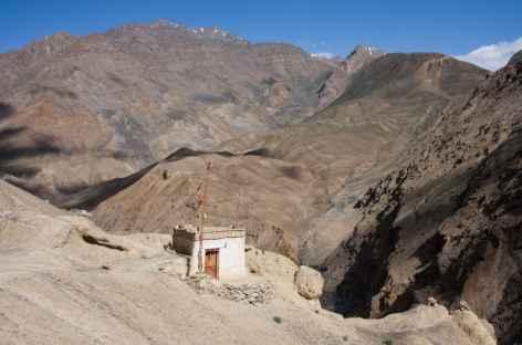 Au dessus de Wanla, Ladakh - Inde -
