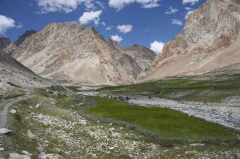 Descente du Yogma La, Zanskar - Inde  -