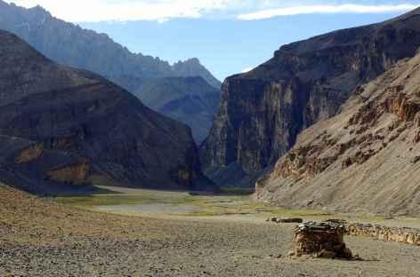 Ambiance au-dessus de Chuskirmo, Ladakh - Inde -