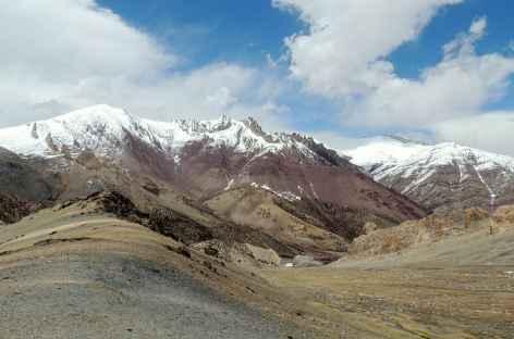 Vue vers la Markha, Ladakh - Inde -