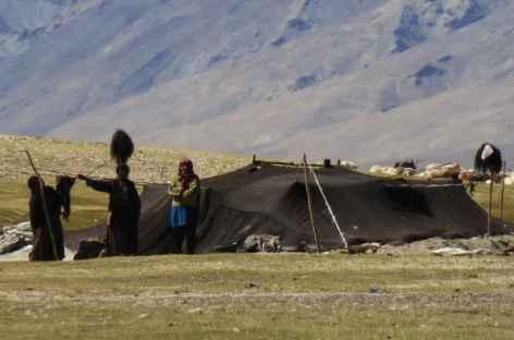 Nomades des hauts plateaux, Ladakh - Inde -
