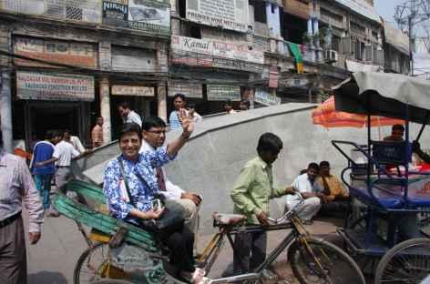 Dans les rues de Delhi -
