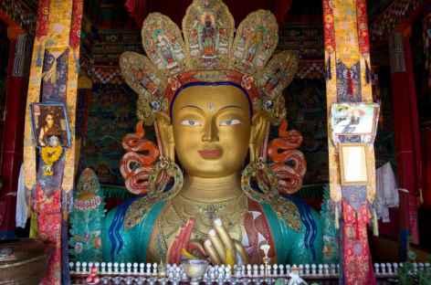 Statue de Maitreya, Ladakh - Inde -