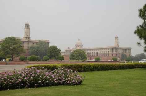 Palais du Parlement - Delhi, Inde -