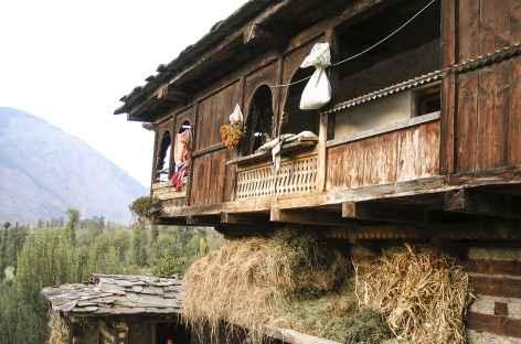 Maison dans la vallée de Manali -
