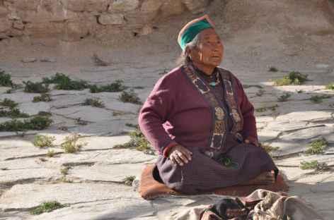 Femme du Spiti - Inde -