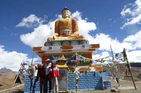 Statue de Bouddha, Spiti - Inde -