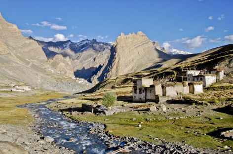 Village de Photoksar, Zanskar - Inde -