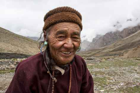 Grand-père Zanskari, Ladakh, Zanskar- Inde -
