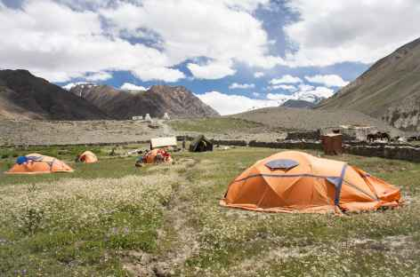 Camp de Tanze, Ladakh, Zanskar- Inde -