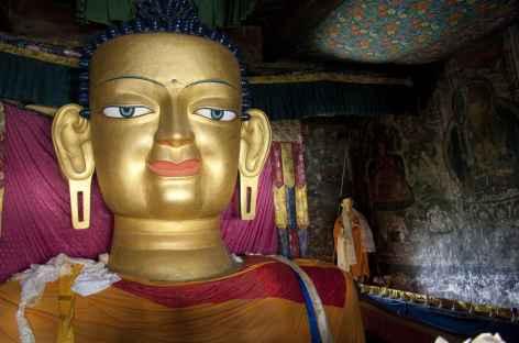 Grand Bouddha de Tiksey, Ladakh - Inde -