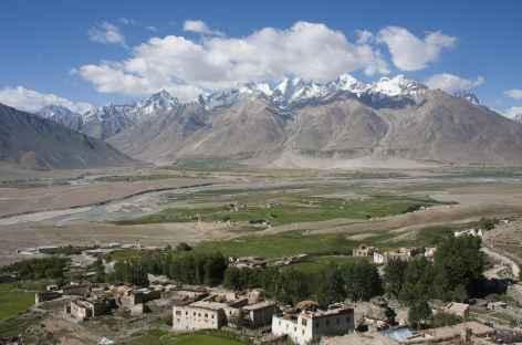 L'immensité de la vallée de Padum, Ladakh, Zanskar- Inde -