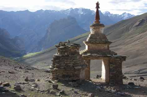 Montée au Sirsir La, Ladakh, Zanskar- Inde -