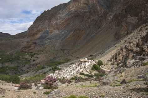 Départ de Lingshed, Ladakh, Zanskar- Inde -