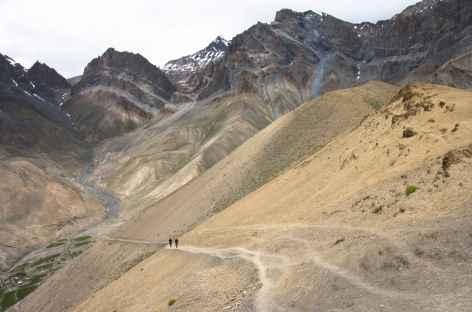 A l'approche du Murgum La, Ladakh, Zanskar- Inde -