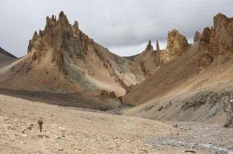 Solitudes du Sniougoutse La, Ladakh, Zanskar- Inde -