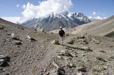 Passage du Sirsir La, Ladakh, Zanskar- Inde -