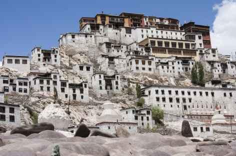 Village monastique de Tiksey, Ladakh - Inde -