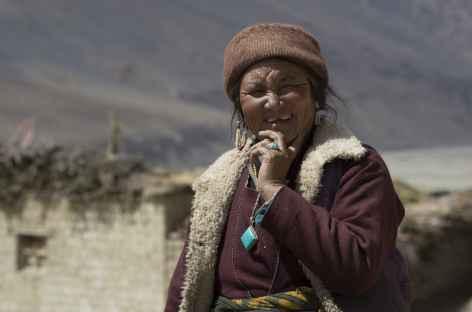 Visage de Pidmo, Zanskar - Inde -