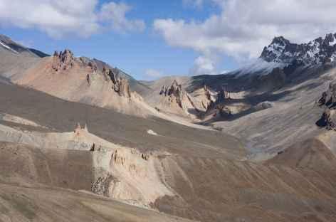Vallon du Sniougoutse depuis le Sirsir La, Ladakh, Zanskar- Inde -