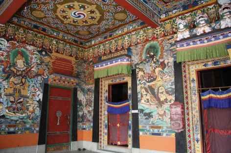 Entrée d'un monastère -