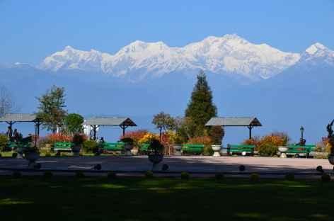 Vue sur le Kanchenjunga, Darjeeling -