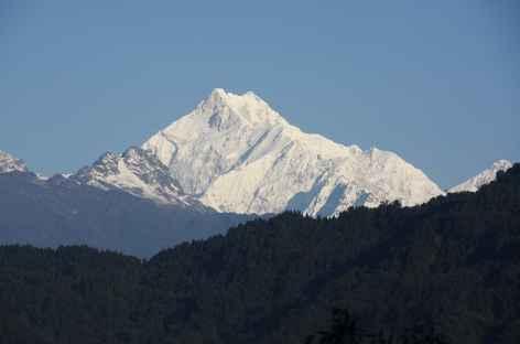 Vue sur le Kangchenjunga -