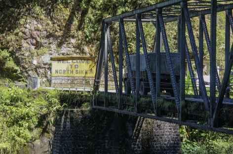 Entrée au Sikkim -