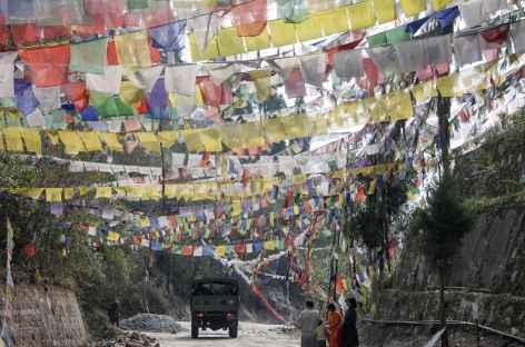 Passage d'un col, Sikkim -