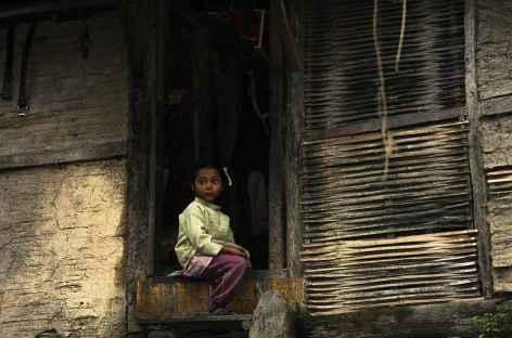 Enfant, Sikkim -