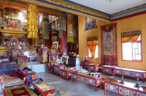 Intérieur d'un monastère, Spiti - Inde -