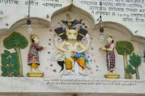 Bas-reliefs, Amritsar - Inde -