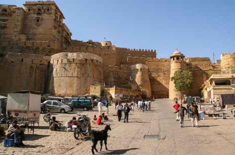 Au pied des remparts, Jaisalmer, Rajasthan -