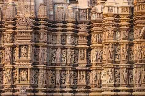 Les 872 statues du temple de Kandariya Mahadev - Khajuraho -