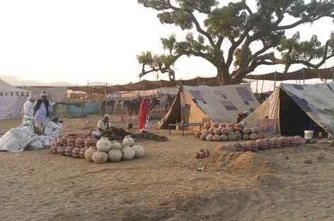 Campement près de Pushkar -